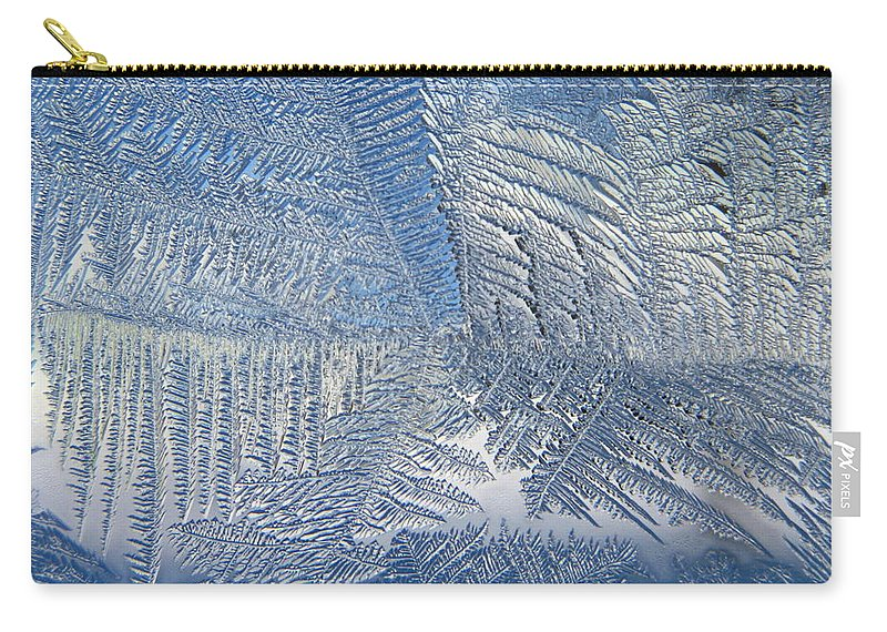Ice Carry-all Pouch featuring the photograph Ice Galore by Rhonda Barrett