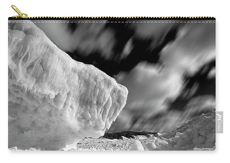 Photography Carry-all Pouch featuring the photograph Ice Giant by Frederic A Reinecke