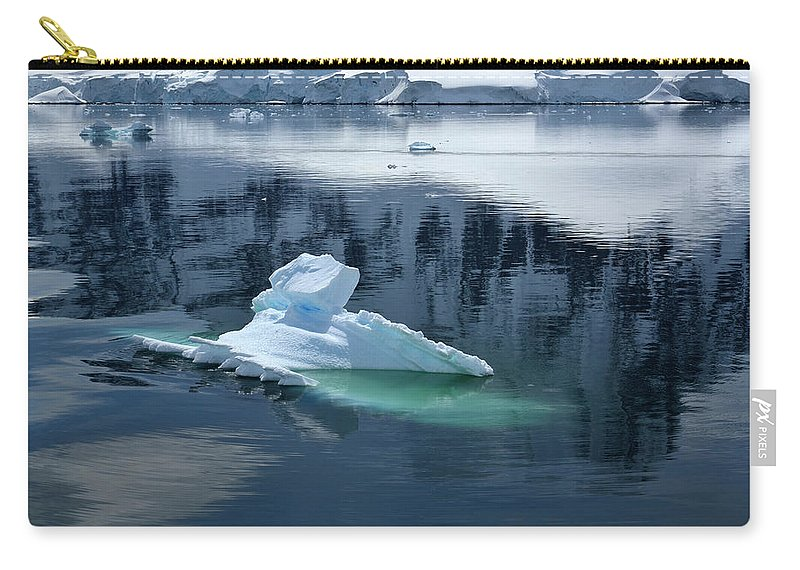 Landscape Carry-all Pouch featuring the photograph Iceberg by Kedar Munshi