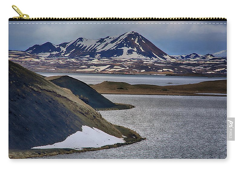 Lakes Carry-all Pouch featuring the photograph Icelandic Beauty by Ceri Jones