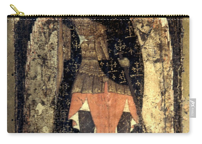 13th Century Carry-all Pouch featuring the photograph Icon: Assumption Cathedral by Granger
