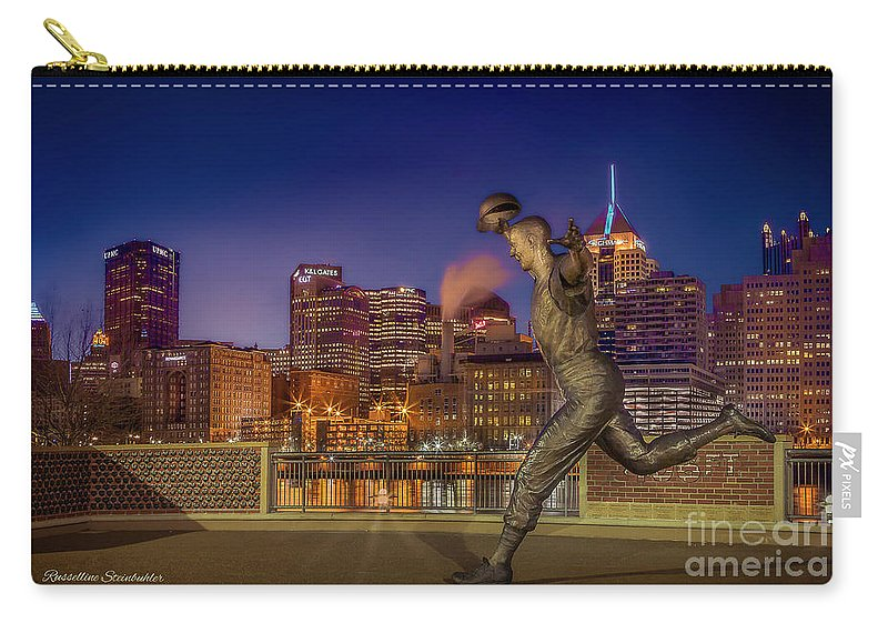 Pittsburgh Carry-all Pouch featuring the photograph Iconic Pittsburgh by Russelline Steinbuhler