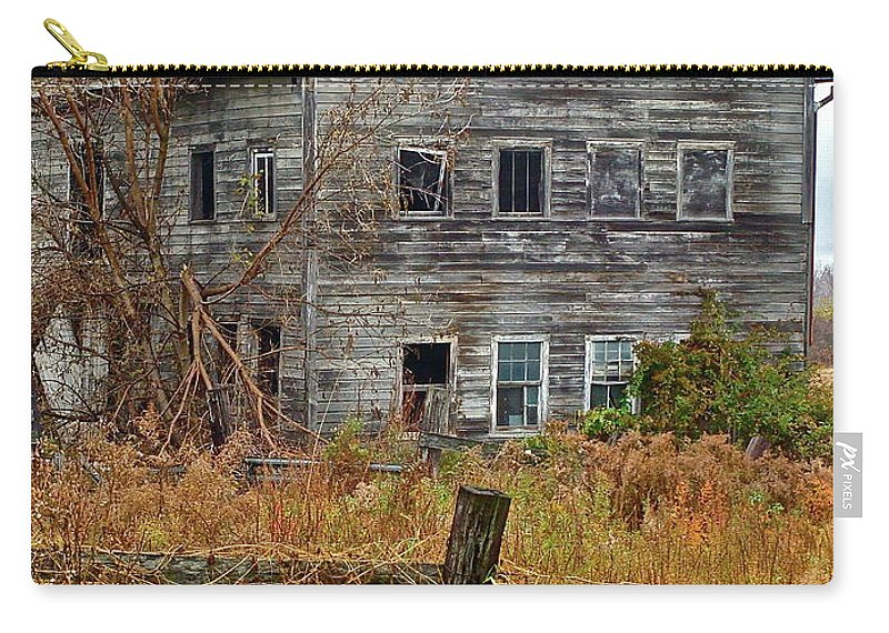Country Carry-all Pouch featuring the photograph If It Could Talk by Diana Hatcher