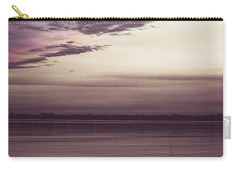 Lake Huron Carry-all Pouch featuring the photograph If This Is All by Kristin Hunt