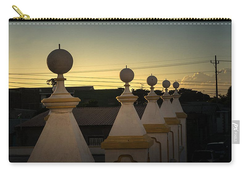 Iglesia San Andres Apostol Carry-all Pouch featuring the photograph Iglesia San Andres Apostol - Apaneca 16 by Totto Ponce
