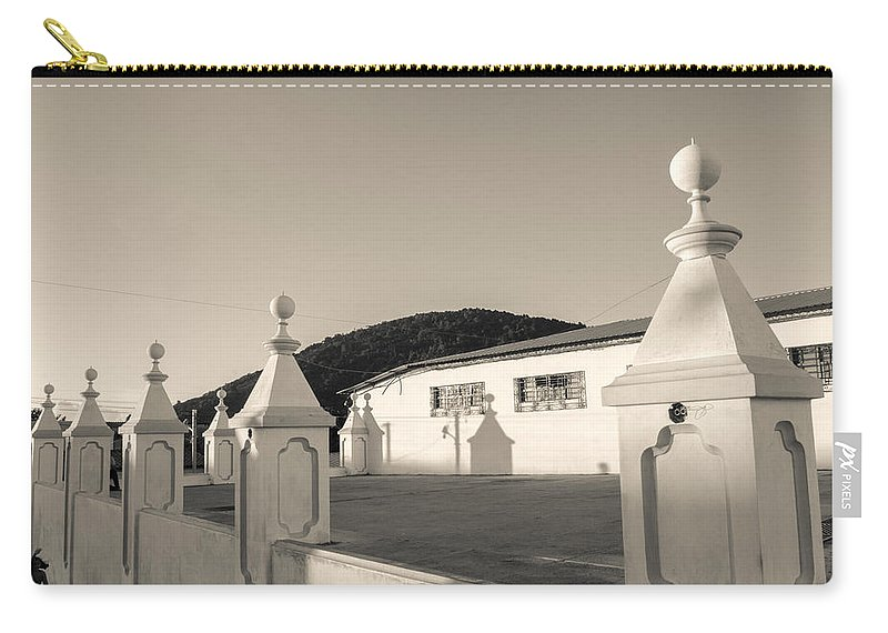 Iglesia San Andres Apostol Carry-all Pouch featuring the photograph Iglesia San Andres Apostol - Apaneca 17 by Totto Ponce