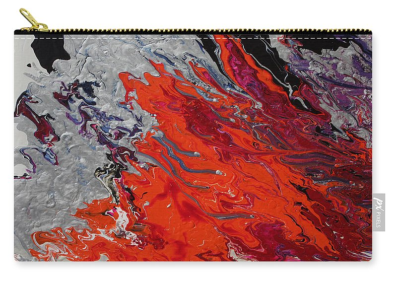 Fusionart Carry-all Pouch featuring the painting Ignition by Ralph White