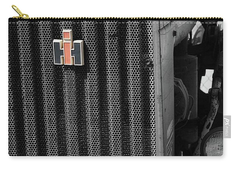 International Harvestor Carry-all Pouch featuring the photograph Ih Tractor by Jost Houk