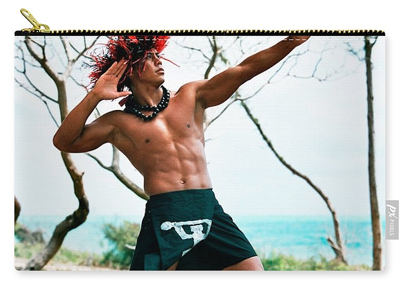 Hawaii'an Carry-all Pouch featuring the photograph Ikaika by Nature Photographer