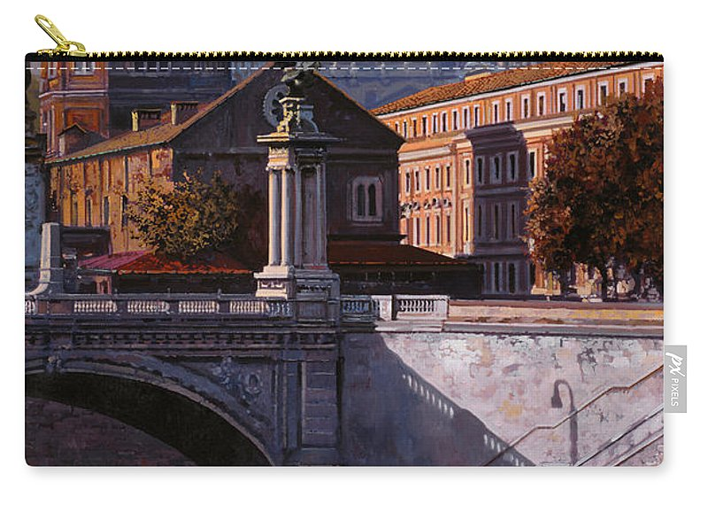 Rome Carry-all Pouch featuring the painting Il Cupolone by Guido Borelli