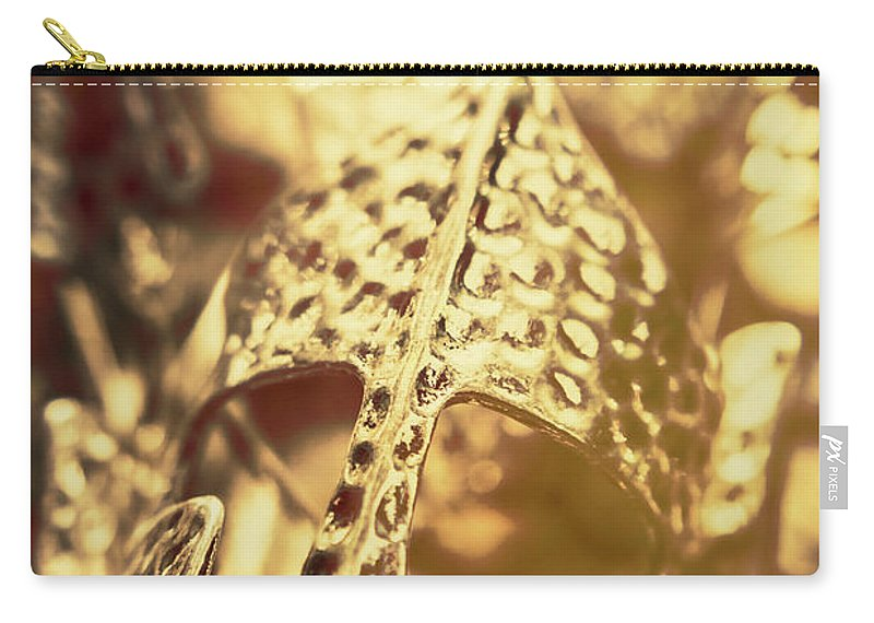 History Carry-all Pouch featuring the photograph Illuminating The Dark Ages by Jorgo Photography - Wall Art Gallery
