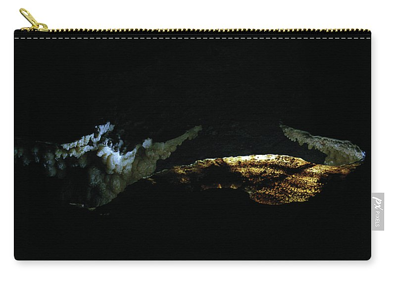 Cave Carry-all Pouch featuring the photograph Illumination by Alycia Christine