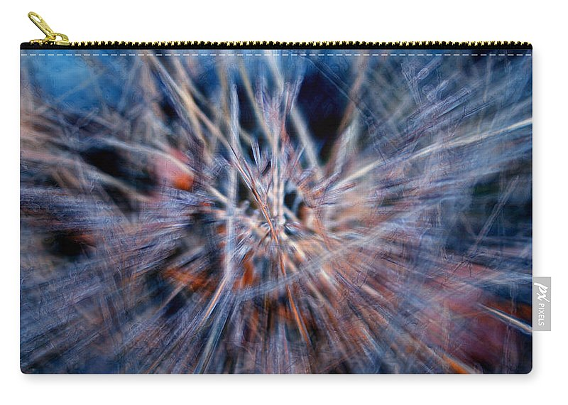 Abstracts Carry-all Pouch featuring the digital art I'm Dreaming by Linda Sannuti