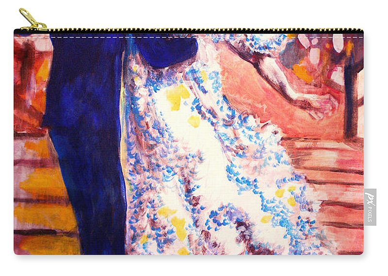 I'm In Heaven Carry-all Pouch featuring the painting I'm In Heaven by Seth Weaver