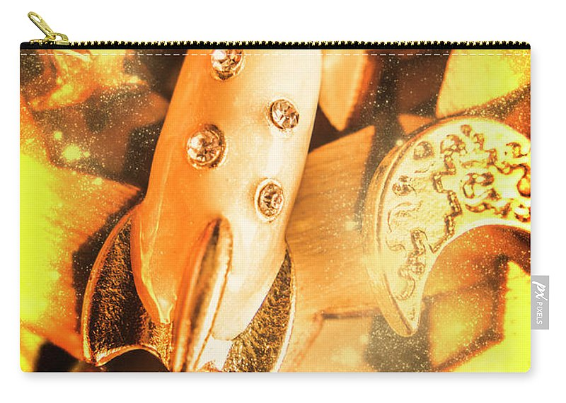 Adventure Carry-all Pouch featuring the photograph Imaginary Adventure by Jorgo Photography - Wall Art Gallery
