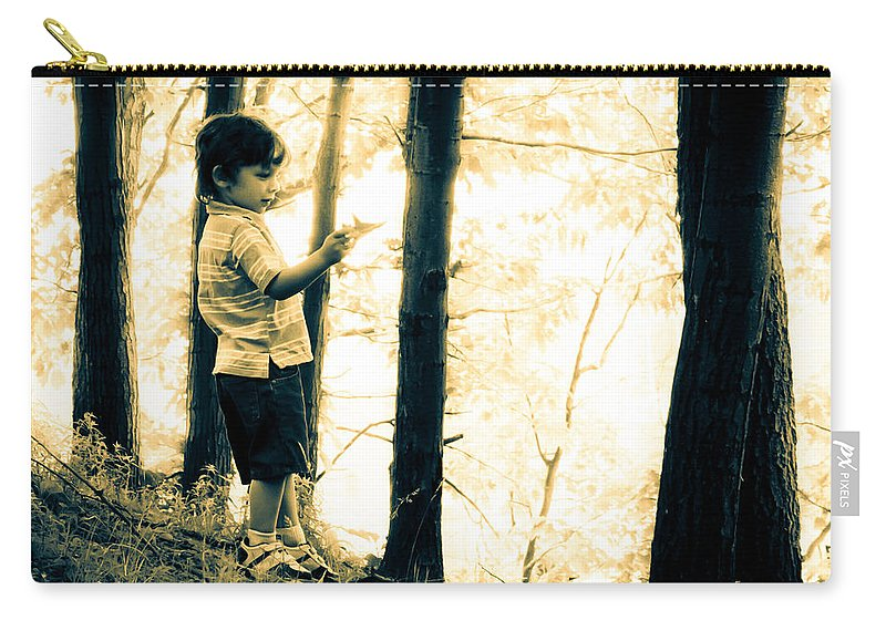 Human Carry-all Pouch featuring the photograph Imagination And Adventure by Bob Orsillo