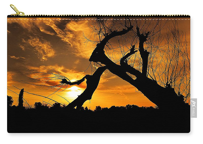 Art Carry-all Pouch featuring the photograph Imagine by Svetlana Sewell