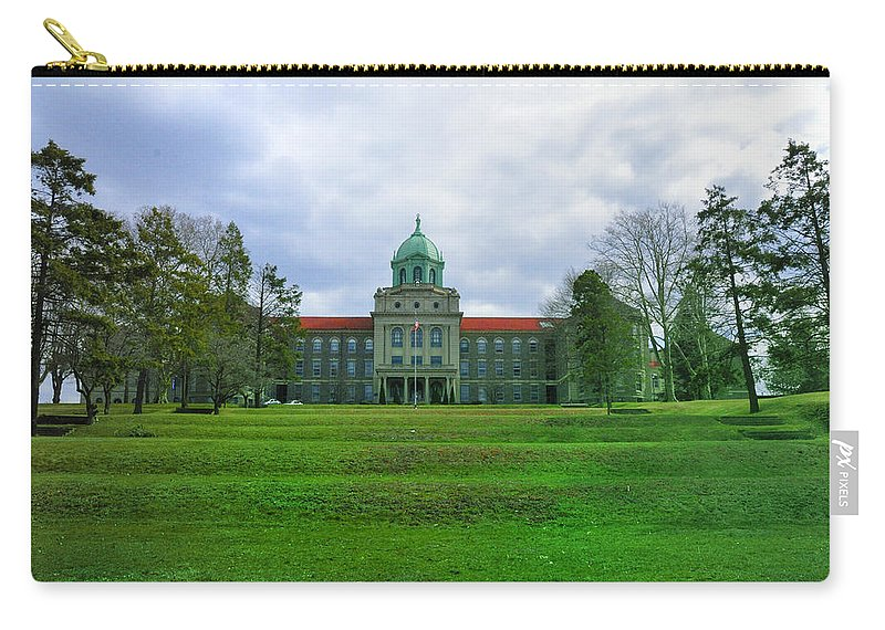 Immaculata Carry-all Pouch featuring the photograph Immaculata University by Bill Cannon