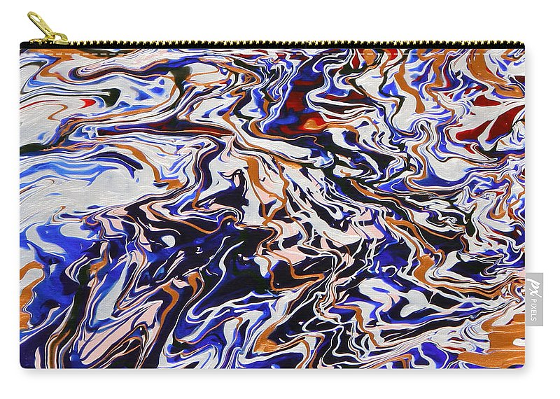 Fusionart Carry-all Pouch featuring the painting Immersion by Ralph White