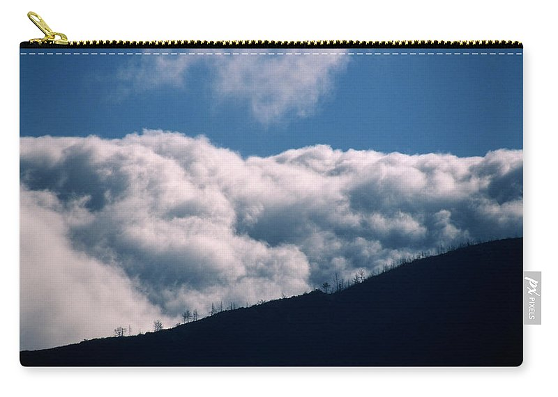 San Rafael Mountains Carry-all Pouch featuring the photograph Imminent Judgment - San Rafael Mountains by Soli Deo Gloria Wilderness And Wildlife Photography