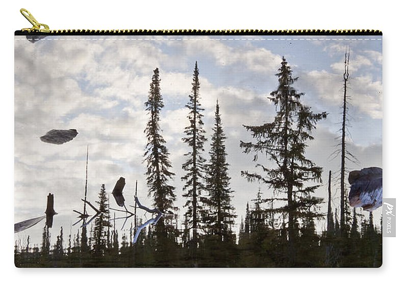 Reflection Carry-all Pouch featuring the photograph Impending Doom by Albert Seger