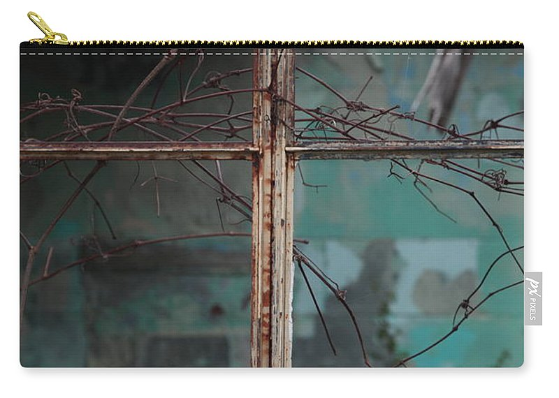 Windows Carry-all Pouch featuring the photograph Imposition by Amanda Barcon
