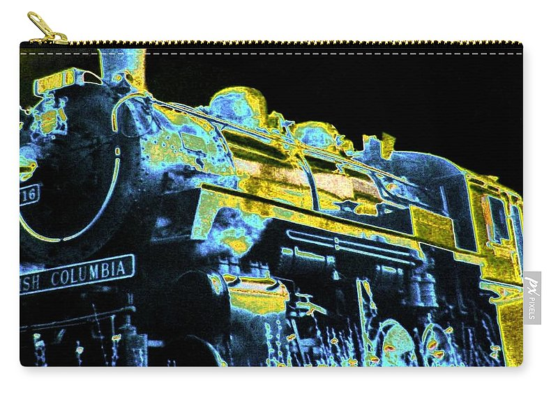 Impressions Carry-all Pouch featuring the digital art Impressions 11 by Will Borden