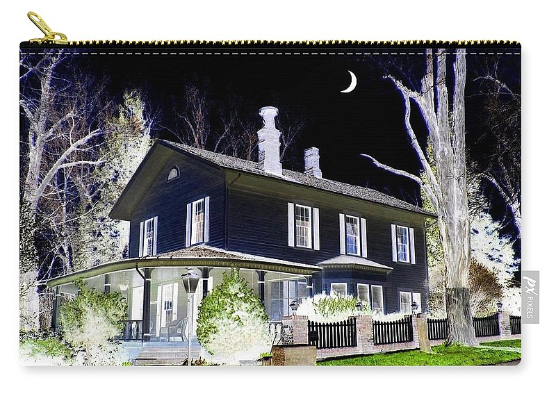 Impressions Carry-all Pouch featuring the digital art Impressions 5 by Will Borden