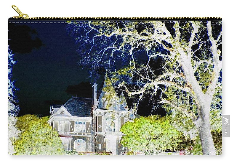 Impressions Carry-all Pouch featuring the digital art Impressions 9 by Will Borden
