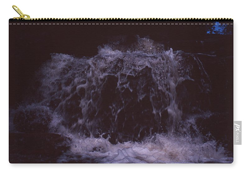 Bahia Carry-all Pouch featuring the photograph In A Bahian Waterfall by Patrick Klauss