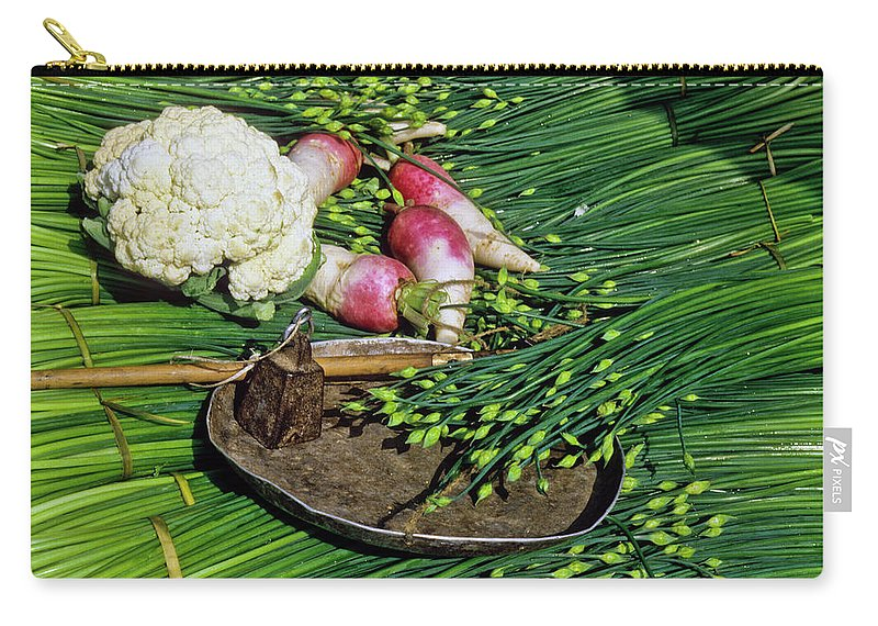 China Carry-all Pouch featuring the photograph In A Chinese Market by Michele Burgess