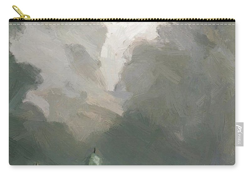 In Carry-all Pouch featuring the painting In Amsterdam by Henri Robert