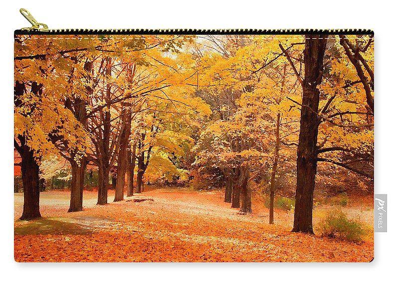 Nature Carry-all Pouch featuring the photograph In Autumn by Mike Smale