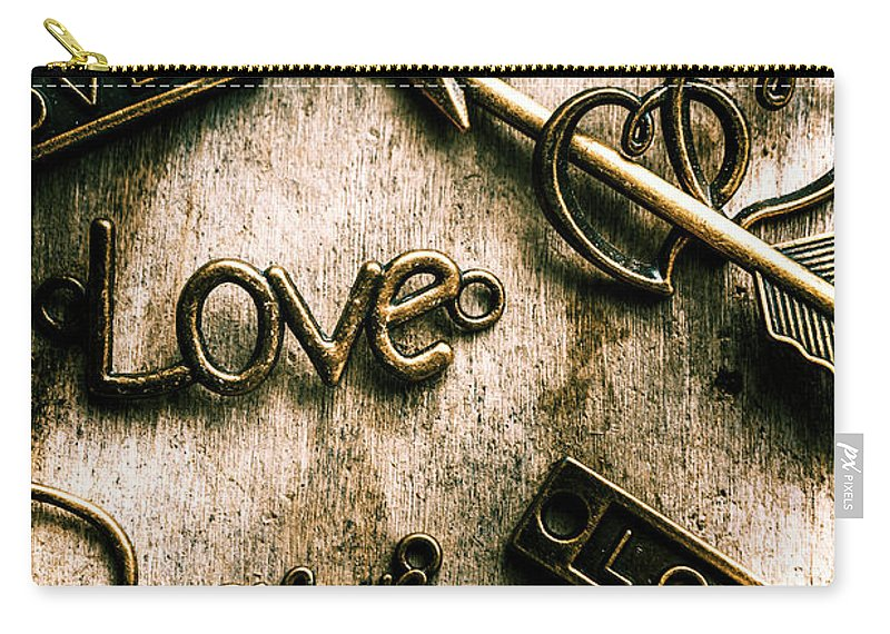 Charming Carry-all Pouch featuring the photograph In Contrast Of Love And Light by Jorgo Photography - Wall Art Gallery