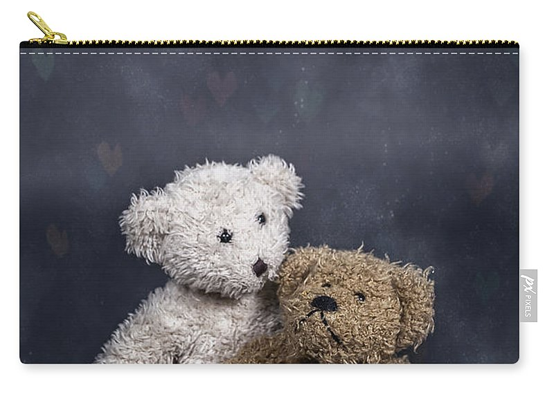 Teddy Carry-all Pouch featuring the photograph In Love by Joana Kruse