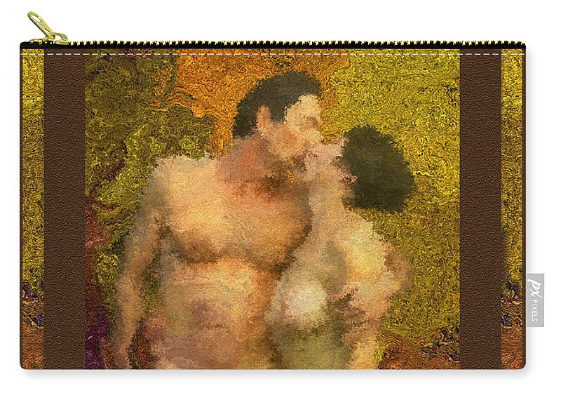 Nudes Carry-all Pouch featuring the photograph In Love by Kurt Van Wagner