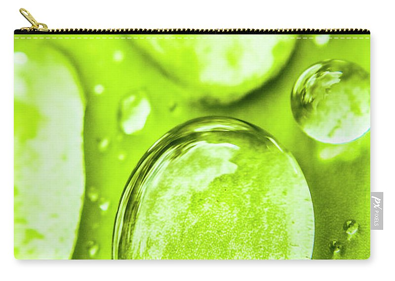 Rain Carry-all Pouch featuring the photograph In Natural Macro by Jorgo Photography - Wall Art Gallery