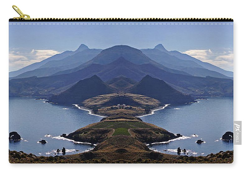 Atlantis Carry-all Pouch featuring the photograph In Search Of Atlantis by Casper Cammeraat