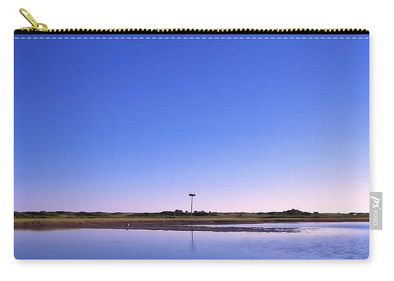 Blue Carry-all Pouch featuring the photograph In The Blue by Evelina Kremsdorf