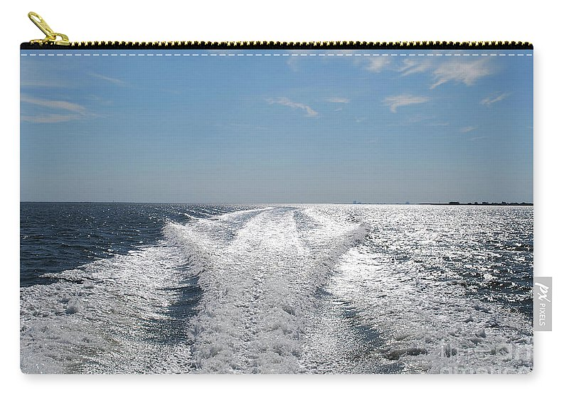 Water Carry-all Pouch featuring the photograph In The Distance by Lori Tambakis