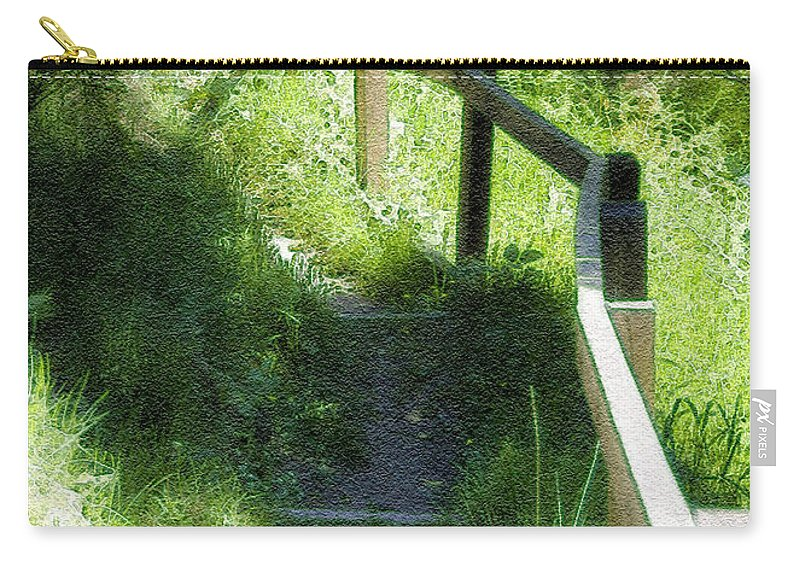 Branch Carry-all Pouch featuring the photograph In The Forest by Svetlana Sewell