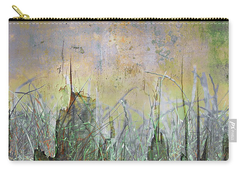 Texture Carry-all Pouch featuring the photograph In The Grass by Hal Halli