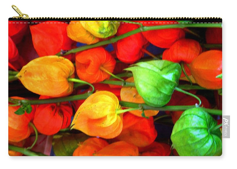 Market Carry-all Pouch featuring the photograph In The Market by Ian MacDonald