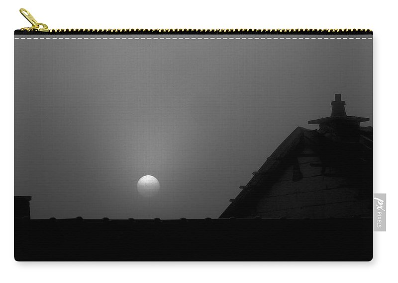 Moon Carry-all Pouch featuring the photograph In The Middel Of The Night by Elisabeth Derichs