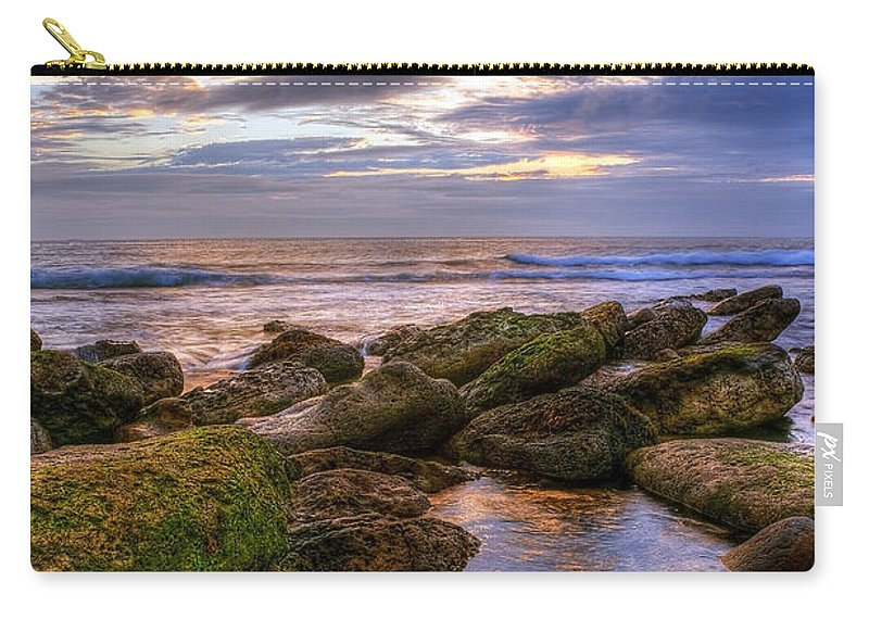 Aqua Carry-all Pouch featuring the photograph In The Morning by Svetlana Sewell