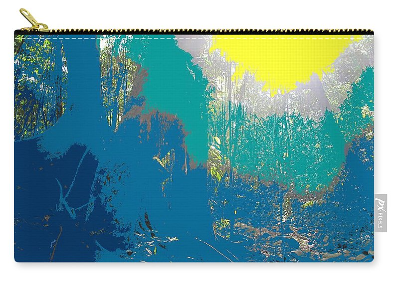 Rainforest Carry-all Pouch featuring the photograph In The Rainforest by Ian MacDonald
