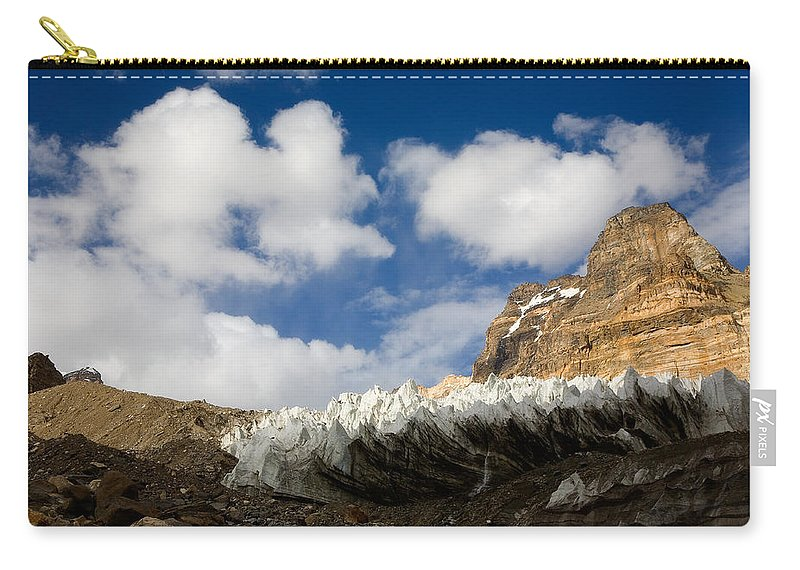 Beautiful Carry-all Pouch featuring the photograph In The Sky And On The Earth by Konstantin Dikovsky