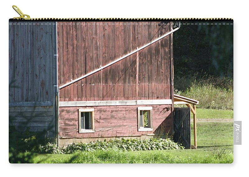 Barn Carry-all Pouch featuring the photograph In The Sun by Bjorn Sjogren