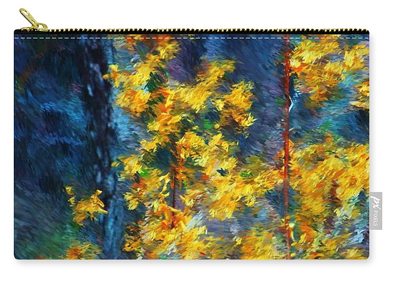 Nature Carry-all Pouch featuring the photograph In The Woods Again by David Lane