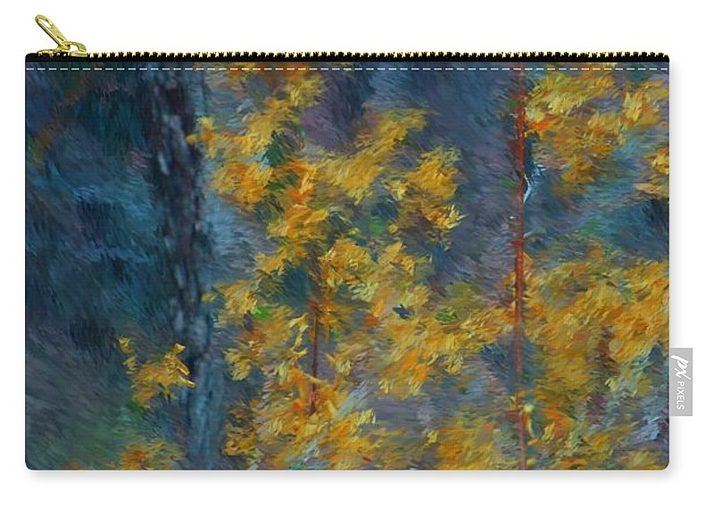 Carry-all Pouch featuring the photograph In The Woods by David Lane